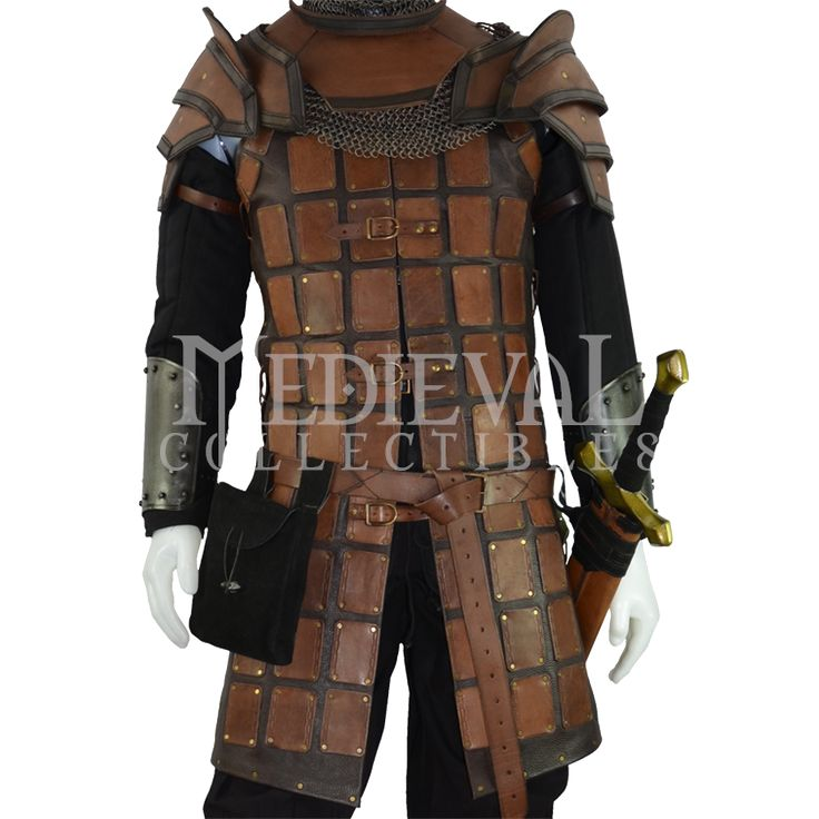 Norman Warrior Outfit and Armour Set