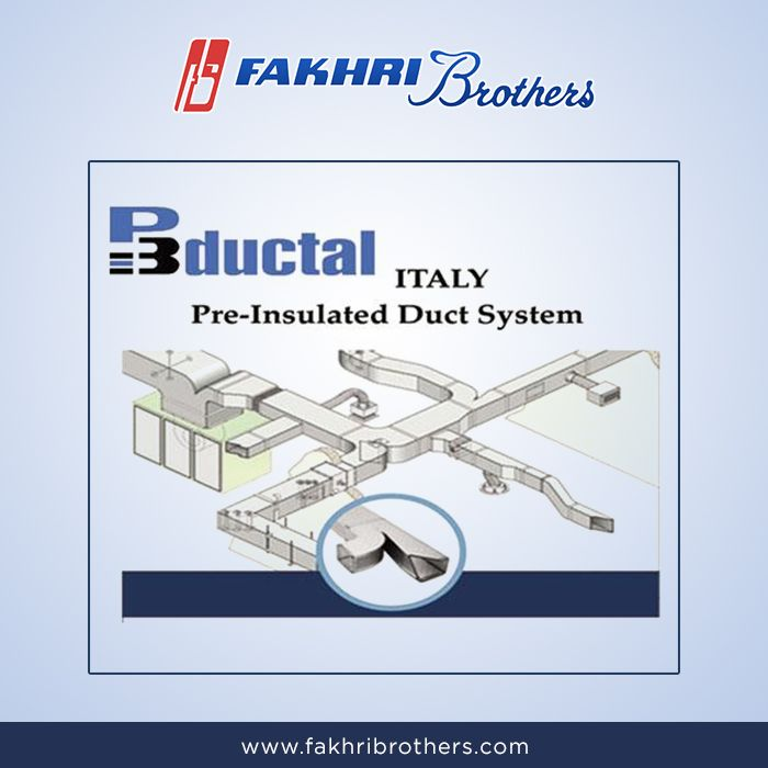 P3ductal Is A P3 System For The Construction And Laying Of Pre Insulated Aluminum Ducts For Air Distribution Fakhri Brothers Is A Suppli Insulated Duct System