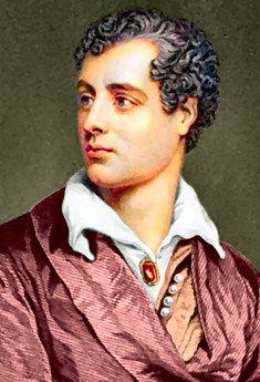 George Byron, poeta inglese molto attivo nella guerra d'Indipendenza greca