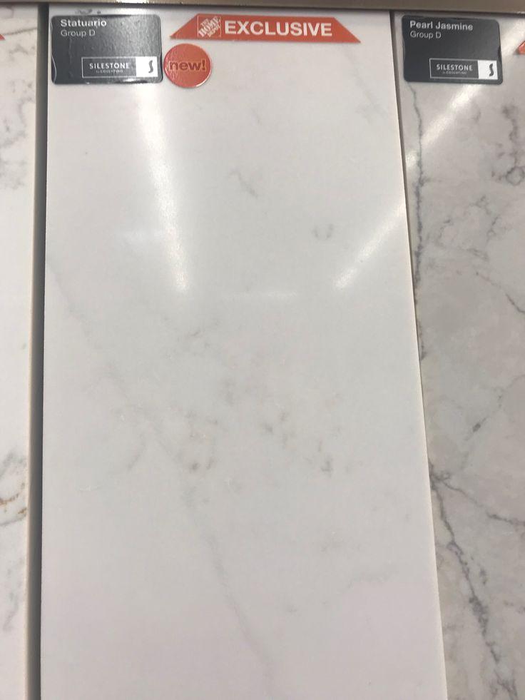 Best Silestone Statuario Sample Recycled Glass Countertops 400 x 300