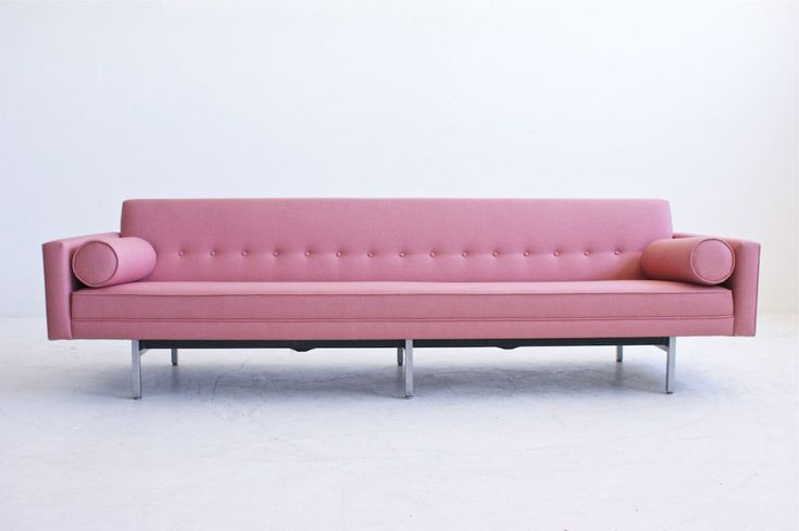 herman miller sofa c 1950 mid century modern design pinterest models pink hearts and colors. Black Bedroom Furniture Sets. Home Design Ideas