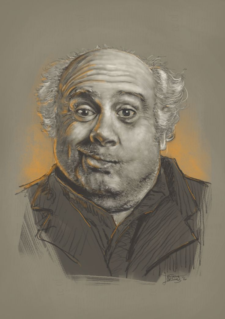 """Danny DeVito"" digiART Procreate by Dexter ""dead writer"" Betantos"