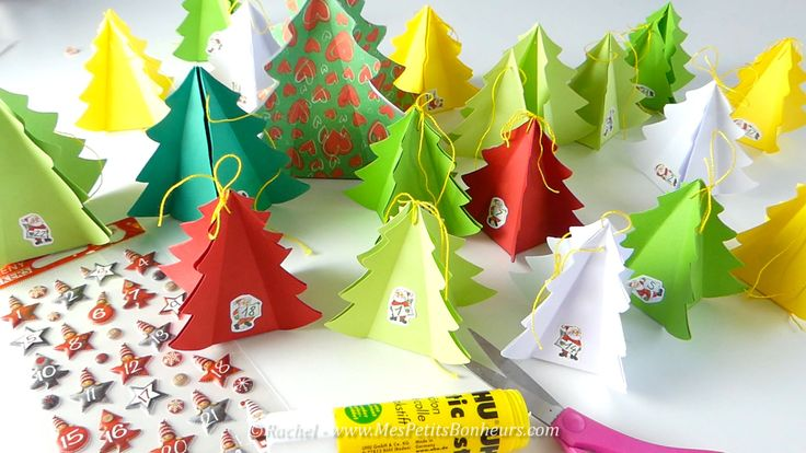 Les 25 meilleures id es de la cat gorie origami sapin de - Forme de sapin a imprimer ...