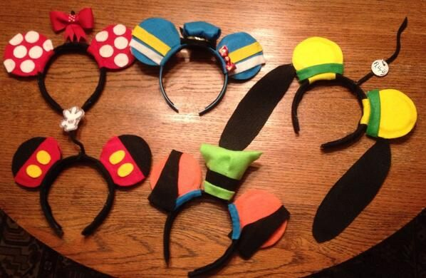 Run Disney Fab Five Headbands?