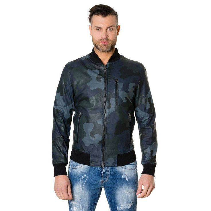 Leather jacket bomber smooth aspect blue navy colour Gaudil  #fashion #swag #style #stylish #socialenvy #PleaseForgiveMe #me #swagger #photooftheday #jacket #hair #pants #shirt #handsome #cool #polo #swagg #guy #boy #boys #man #model #tshirt #shoes #sneakers #styles #jeans #fresh #dope