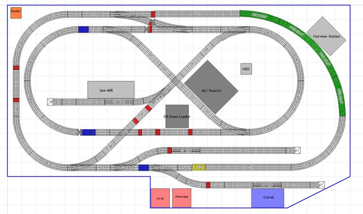 "35 Best Track Plan Ideas ""O"" Scale Images On Pinterest"