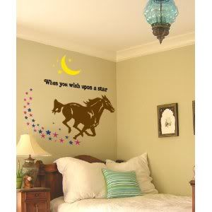Mystical Horse Decal  Big 41 X 40 Inch Sticker  Sold By Aluckyhorseshoe    Another One I Want For The Room!