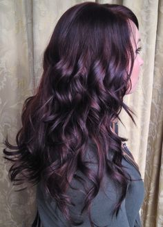 Best 25 Plum Black Hair Ideas On Pinterest