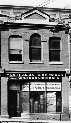 Stainless Steel Wire Mesh (SSWM) when it was Greer & Ashburner - established in 1849.