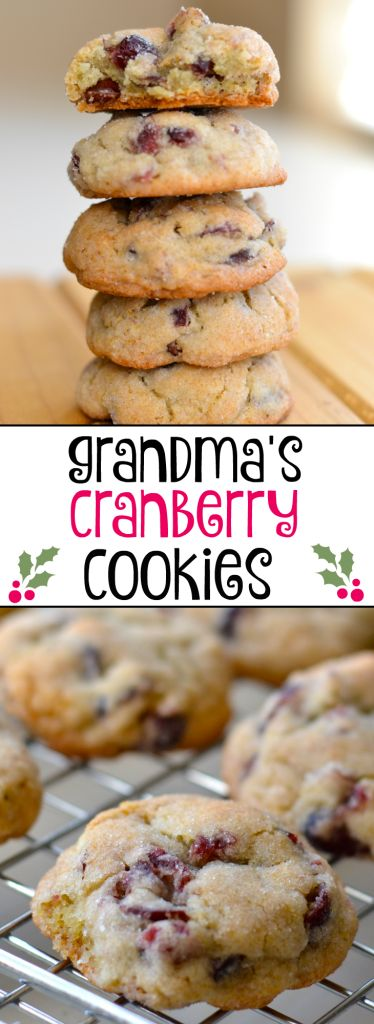 My grandma made these cookies every year during the holidays. They are simple, soft, and delicious!