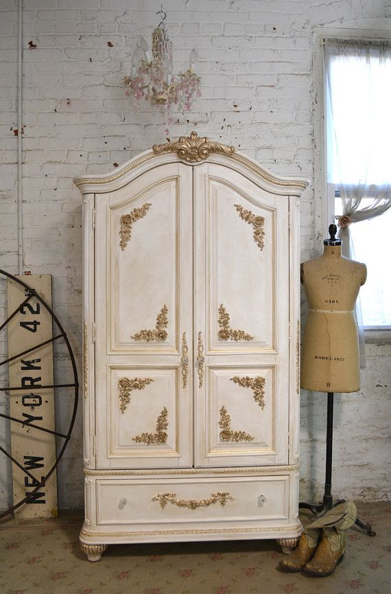 153 best Armoires images on Pinterest | Painted furniture, Antique ...