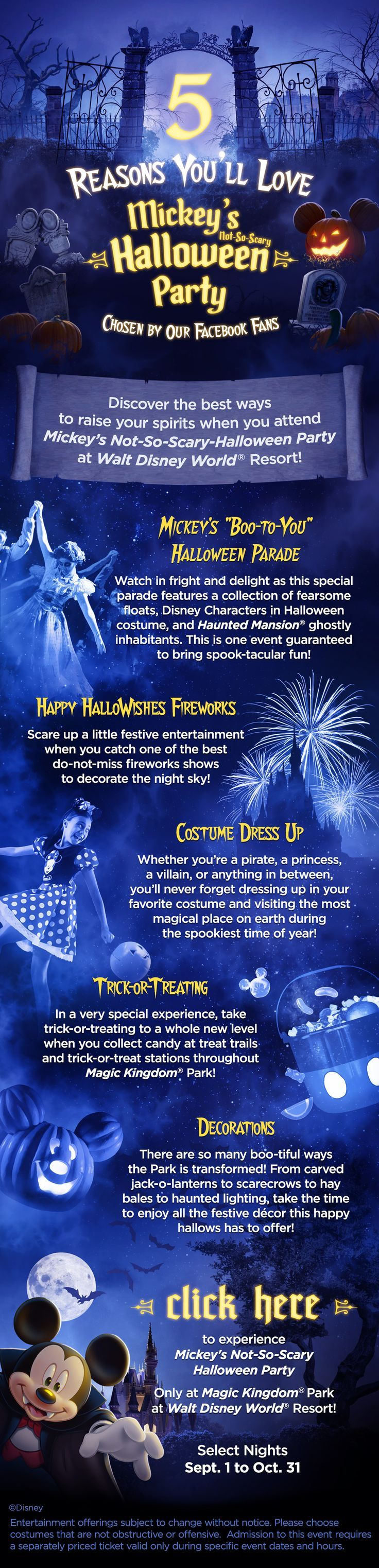 mickey's halloween party information