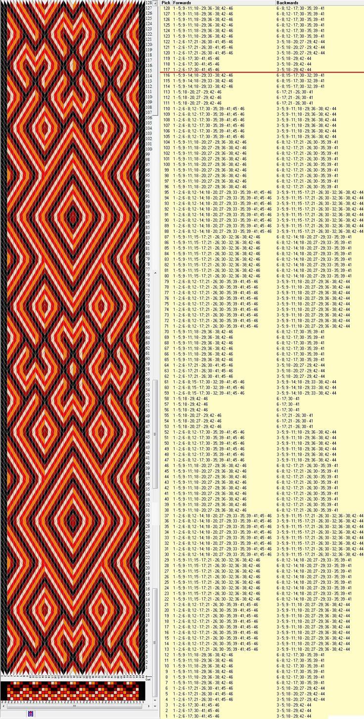 46 tarjetas hexagonales, 5 colores, repite cada 116 movimientos // sed_450_c6…