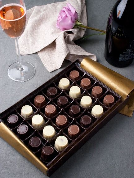 UGH i hate when companies screw something small up that ruin the deal... Note the picture shows exactly double the number of chocolates you will get if you order them.  I was considering ordering them, but not for half that size! Please!