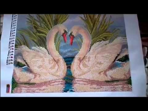 """Картина маслом"" (0039) - Белый лебедь - YouTube"