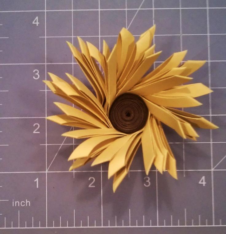 25 cute sunflower wedding favors ideas on pinterest sunflower paper sunflower wedding favor or decoration for a sunflower wedding see more sunflower wedding ideas junglespirit Images