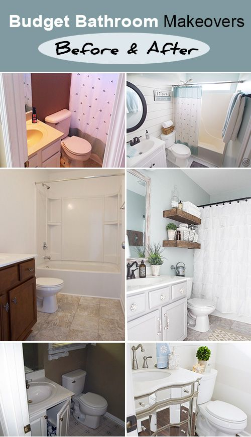 budget bathroom makeovers before and after - Small Bathroom Design Ideas On A Budget