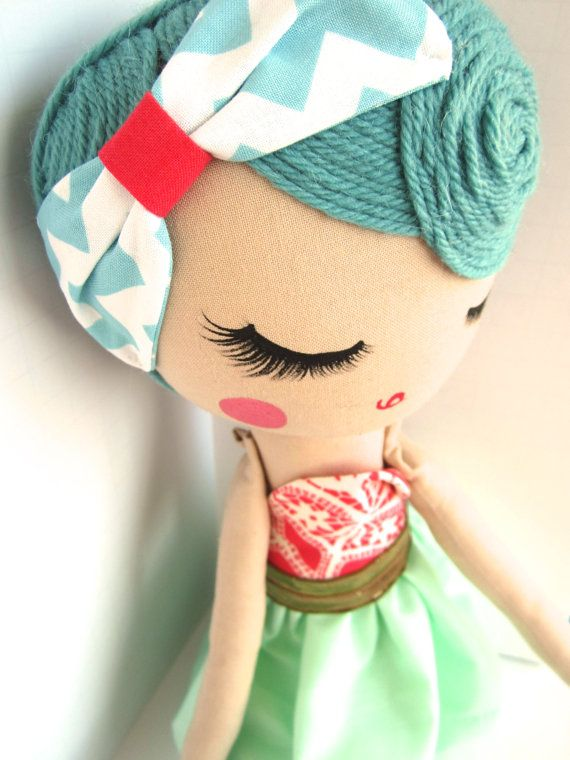 Custom Classic Cloth Doll by Mend by MendbyRubyGrace on Etsy, $100.00