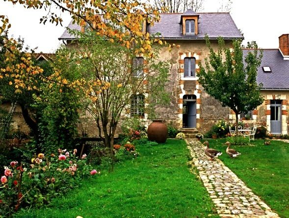The Moulin Brégeon is an 19th century water mill in the Loire Valley transformed into an elegant bed and breakfast.