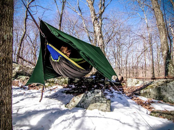 The Ultimate Beginner's Guide to Hammock Camping - Serac Hammocks