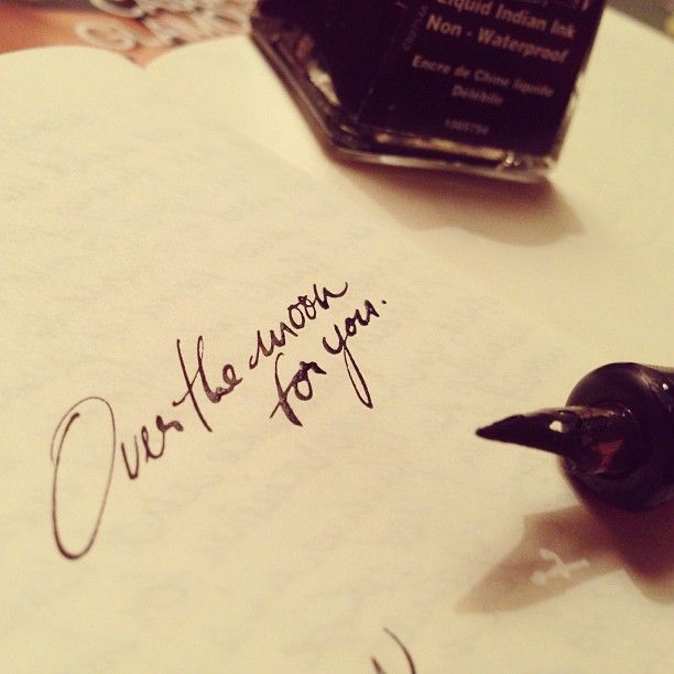 love the handwriting