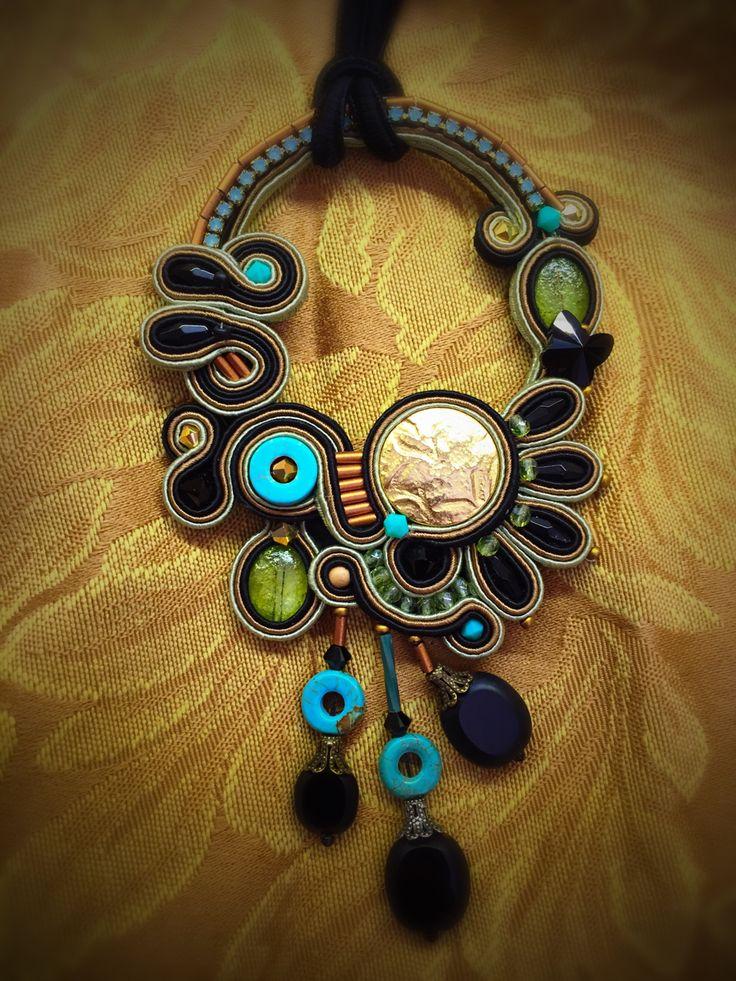 Adesso boho chic pendant by Dori Csengeri.