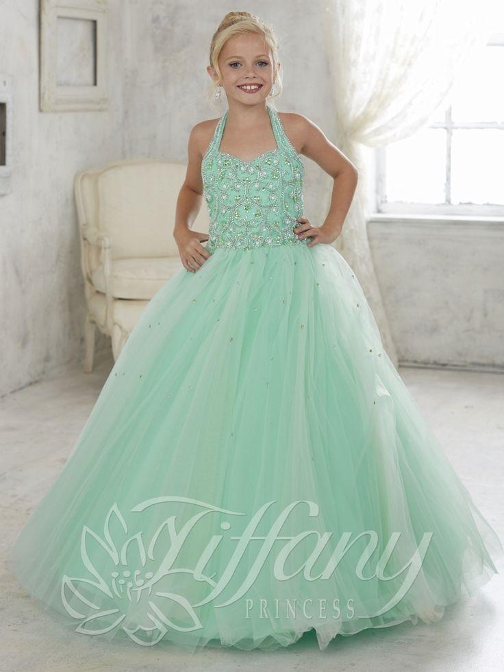 Tiffany Princess Little Girls Dress 13446