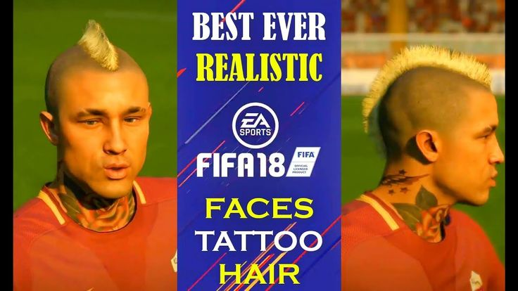 Fifa 18 PLAYER BEST of New FACES Tattos Hair Authenticity Neymar G Jesus Sane Sanches Nainggolan 00:07 Faces Facial Hair and Tattoos of Neymar  Di Maria  Cavani PSG 00:23 Faces Facial Hair and Tattoos of Gabriel Jesus Manchester City 00:28 Faces Facial Hair and Tattoos of SANE Manchester City 00:31 Faces Facial Hair and Tattoos of Neymar PSG 00:35 Faces Facial Hair and Tattoos of Sanches Bayern Munich 00:40 Faces Facial Hair and Tattoos of Nainggolan ROMA 00:46 Faces Facial Hair and Tattoos…