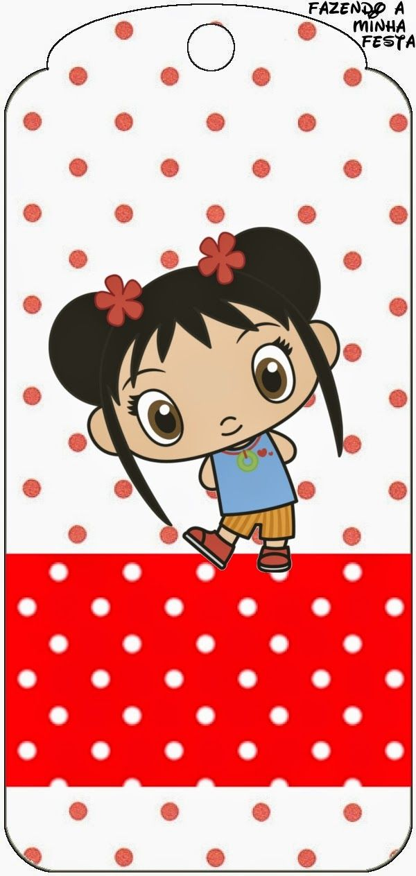 Ni Hao Kai Lan: Free Party Printables,Frames and Images.