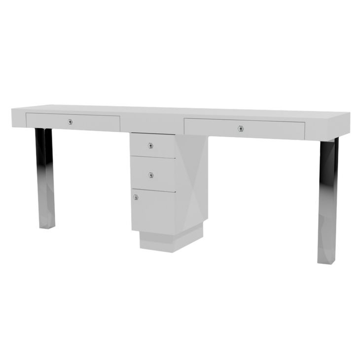 Tory Double Manicure Table