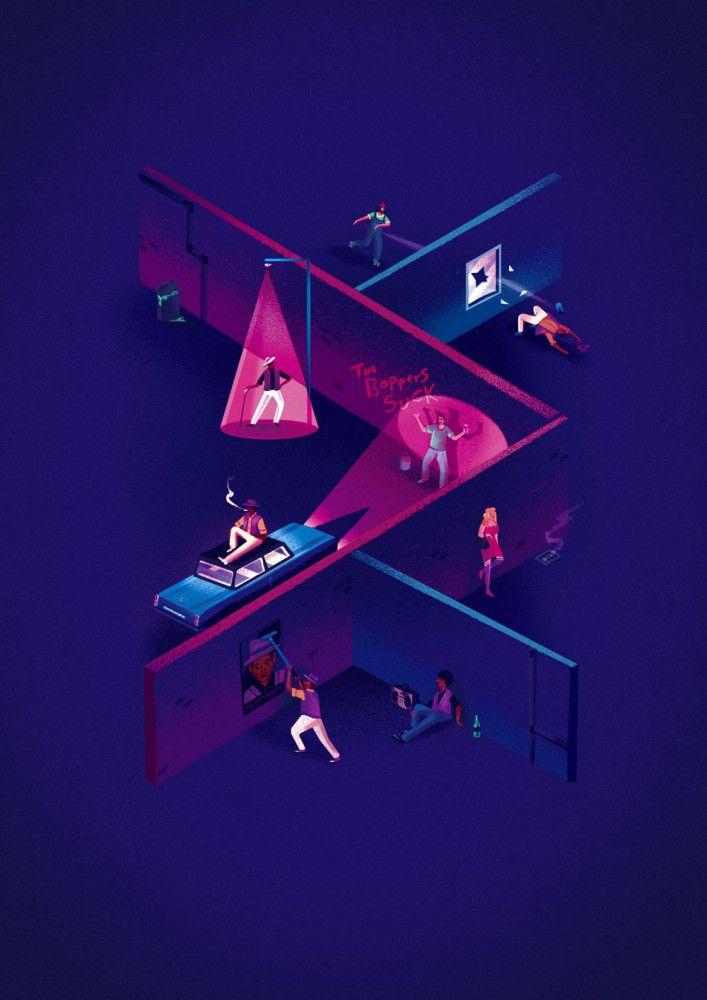 Illustrations by Jack Hudson | Inspiration Grid | Design Inspiration