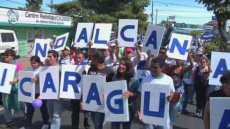 Nicaragua canal faces opposition