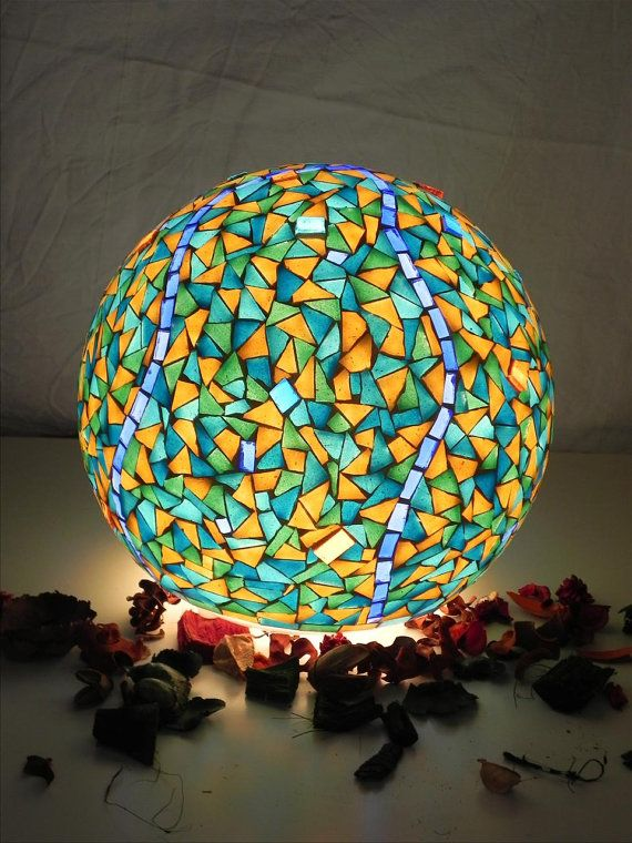 black friday cyber monday sale blue mosque mosaic table lamp