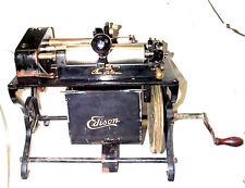 EDISON SHAVER PHONOGRAPH CYLINDER SHAVING MACHINE , 1905