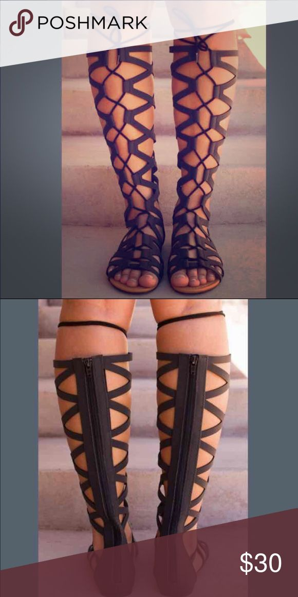 Gladiator boots NWT make offers :) Shoes Lace Up Boots