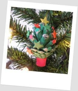 17 best images about pine cones on pinterest cars for Pine cone christmas ornaments for kids