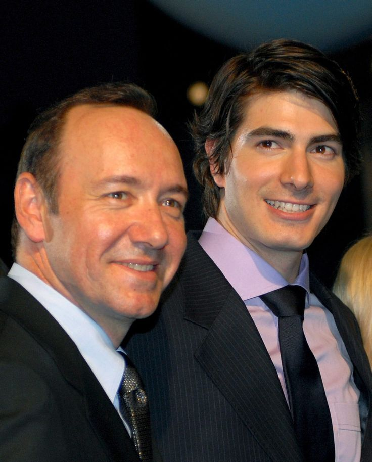 Kevin Spacey • Kevin Spacey and Brandon Routh. Great to see...