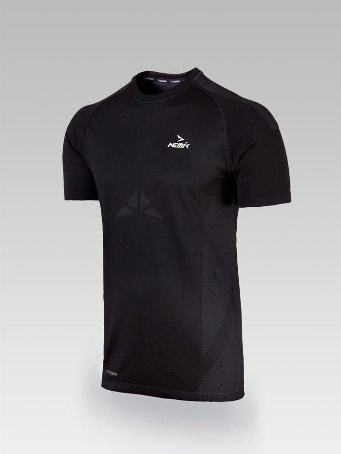 Playera deportiva black Nemik #tshirt #black #Nemik