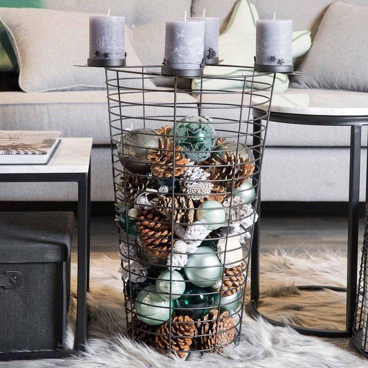 die besten 25 metallk rbe ideen auf pinterest k rbe zur lagerung zwiebel lagerung und. Black Bedroom Furniture Sets. Home Design Ideas