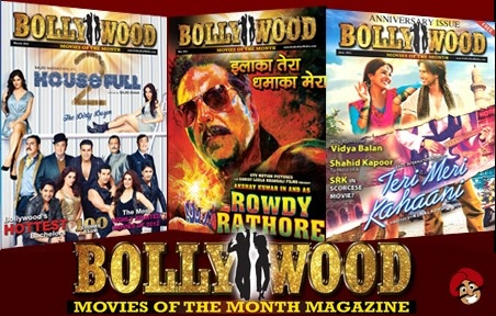 $19.99 for 12 Bollywood Magazine Subscriptions Plus One Movie Ticket