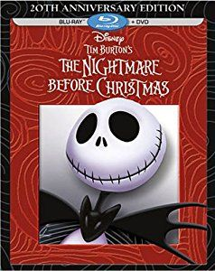 Amazon.com: Tim Burton's The Nightmare Before Christmas - 20th Anniversary Edition (Blu-ray / DVD Combo Pack): Chris Sarandon, Danny Elfman, Catherine O'Hara, William Hickey, Glenn Shadix, Paul Reubens, Ken Page, Ed Ivory, Susan McBride, Debi Durst, Greg Proops, Kerry Katz, Randy Crenshaw, Sherwood Ball, Carmen Twillie, Henry Selick, Based On A Story And Characters By Tim Burton, Screenplay By Caroline Thompson: Movies & TV