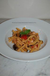 In Cucina con Susetta e altro...: PASTA PESCE SPADA E MELANZANE  La pasta con pesce ...