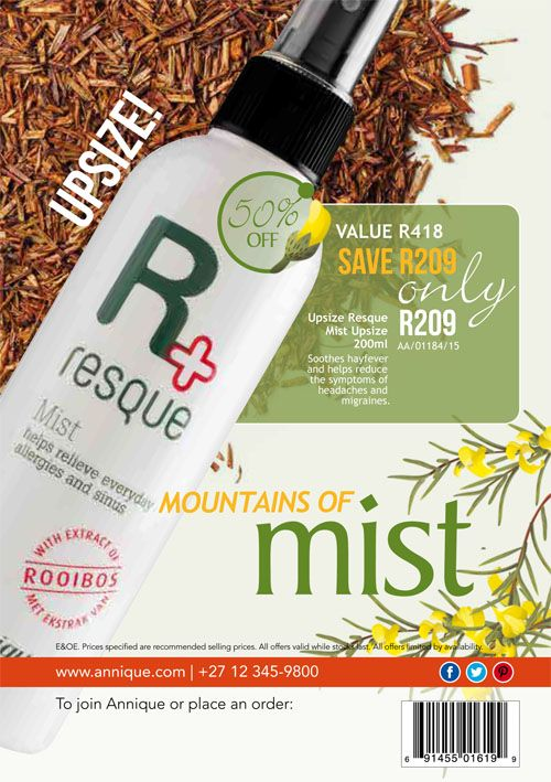 March 2018 Beaute | Annique Health & Beauty Specials. Purchase these Monthly  specials from our Rooibos-Miracle Online Store. #annique #resquemist #resque #rooibos #rooibosmiracle #skincare #cosmetics #diet #naturalremedies