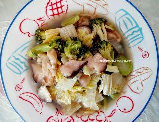 Dapur Greget: Resep Capcay Jamur Vegetarian (Vegetarian Capcay w...