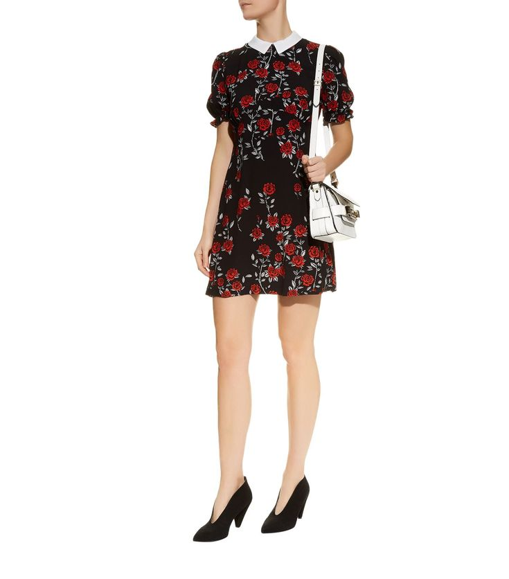 Sandro Detachable Peter Pan Collar Dress | Harrods.com