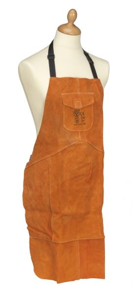 Heavy-Duty Leather Welding Apron
