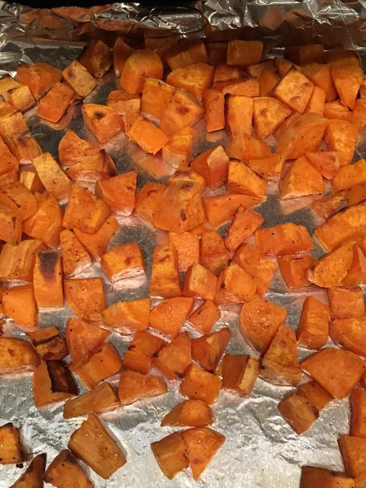 Sweet Potato Home Fries     These sweet potato home fries are the perfect side dish! You may feel like you are cheating, but you're not! Th...