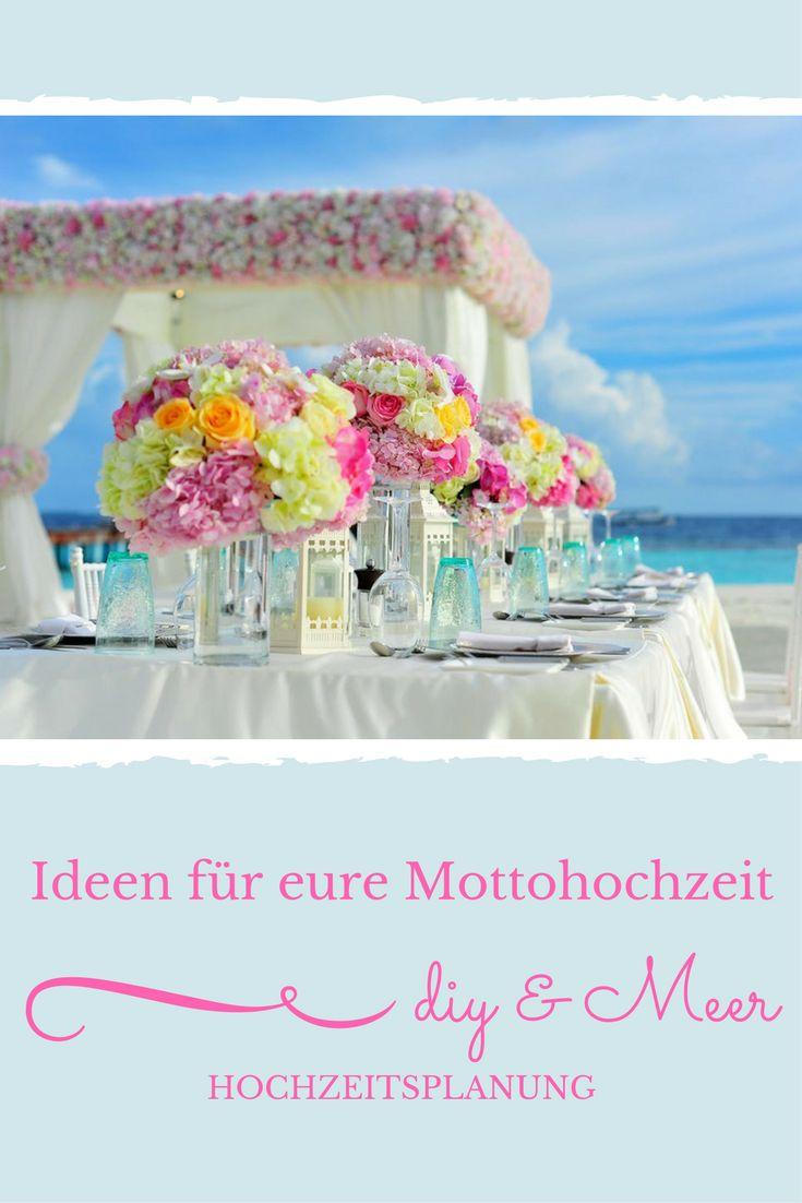 Ideen für eure Mottohochzeit, Hochzeitsplanung, Hochzeit, DIY & Meer http://diyundmeer.de