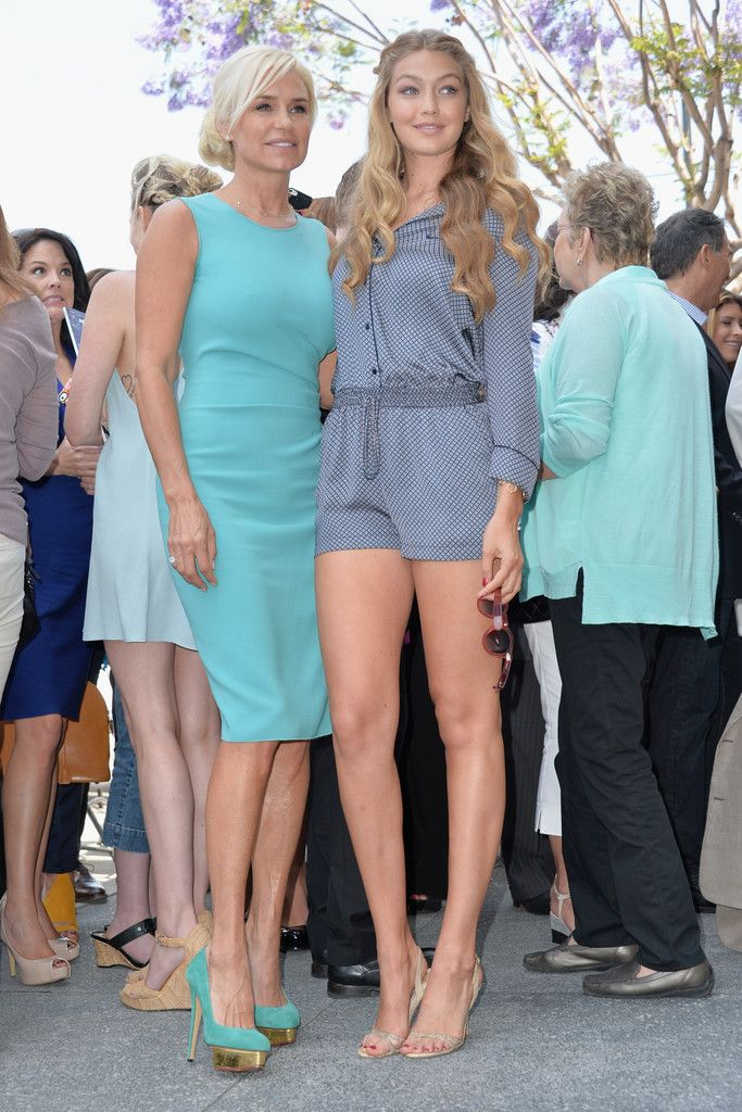 Gigi Hadid Photos: David Foster Honored on the Walk of Fame — Part 2