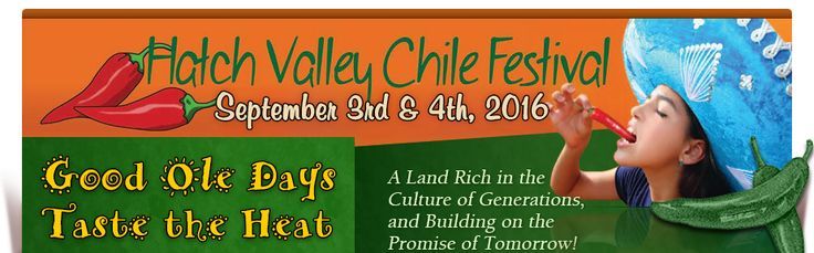 Hatch Chile Festival in NM